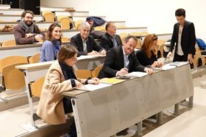 Le jury au travail
